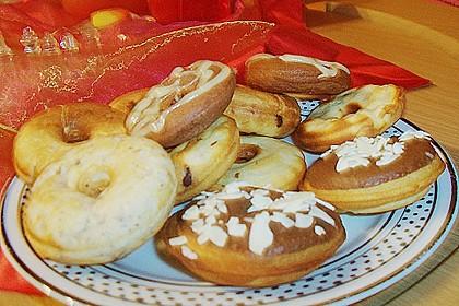 Donuts für die Blechform 16