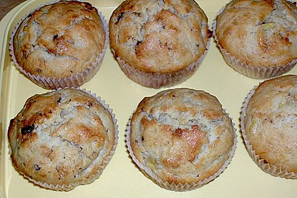 Bananen - Schoko - Muffins 11