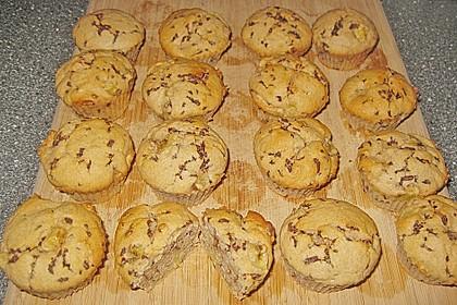 Bananen - Schoko - Muffins 13