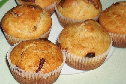 Bananen - Schoko - Muffins 29