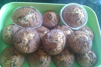 Bananen - Schoko - Muffins 30
