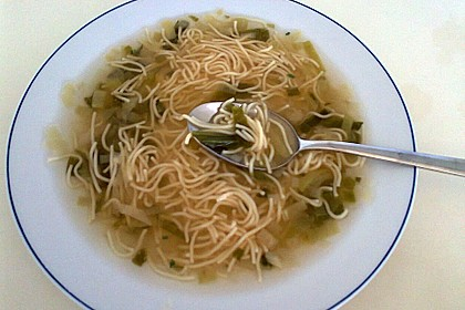 Lauchsuppe 7