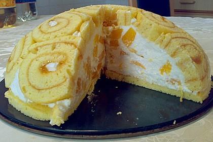 Pfirsich - Charlotte mit Käsesahne 19