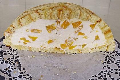 Pfirsich - Charlotte mit Käsesahne 33