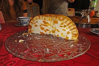Pfirsich - Charlotte mit Käsesahne 63