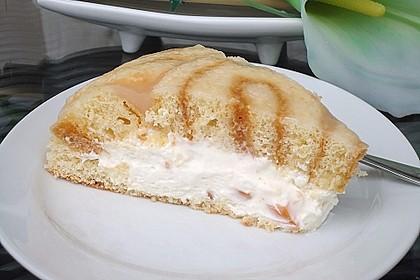 Pfirsich - Charlotte mit Käsesahne 46