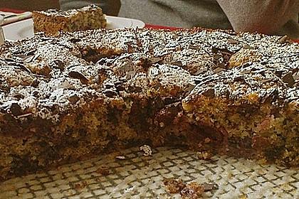 Supereinfacher Schoko - Kirsch - Kuchen 5