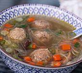 Fleischklößchensuppe wie beim Chinesen (Bild)