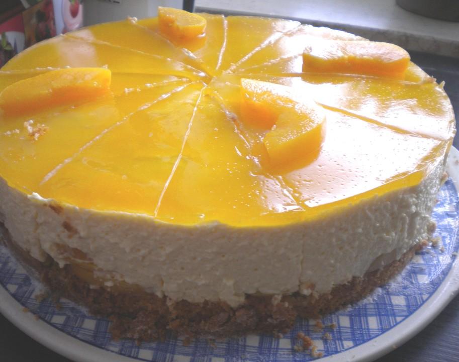 Pfirsich Maracuja Torte Von Reini Chefkoch De