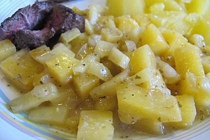 Steckrüben-Apfel-Gemüse