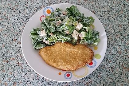 Gekochter Weißer Bohnensalat mit Hirtenkäse 1
