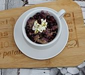 Protein-Porridge mit Beeren (Bild)