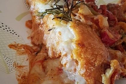 Chicken-Fajita-Tortilla-Auflauf