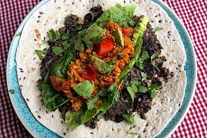 Mexikanische Tempeh-Tortillas