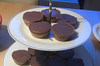 Lisas Schokoladen-Karamell-Shortbread Muffins