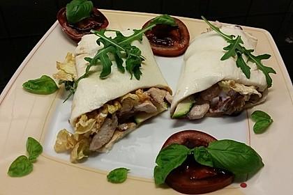 Low carb Mozzarella Wrap