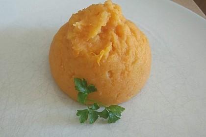 Süßkartoffelpüree (Bild)