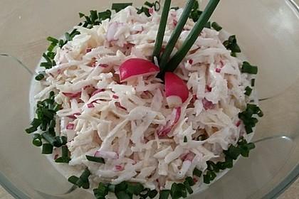 Sellerie-Radieschen-Salat 1