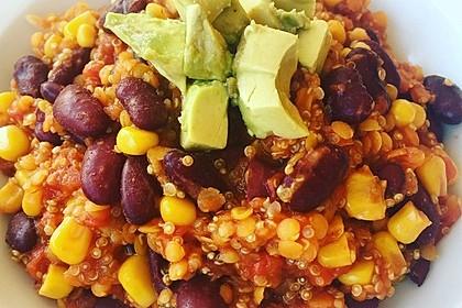 Chili sin Carne mit Quinoa