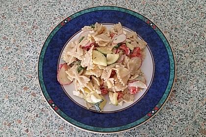 Nudelsalat mit Joghurt 1
