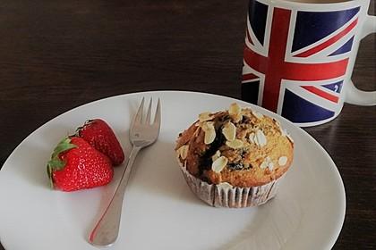 Fluffige Vollkorn-Frühstücks-Muffins