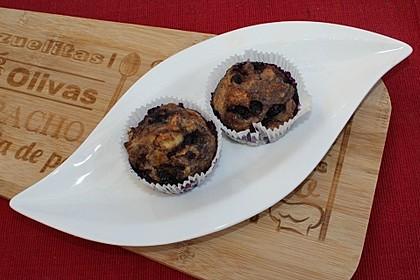 Fluffige Vollkorn-Frühstücks-Muffins 1