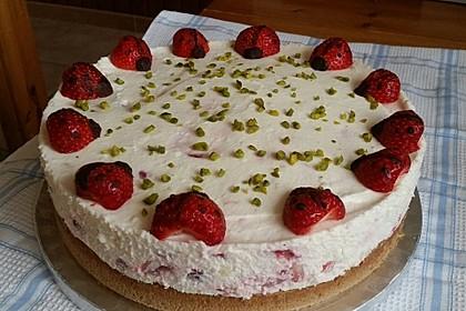 Erdbeer-Joghurt-Torte 1