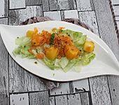 Möhren-Mango-Salat mit Sprossen (Bild)