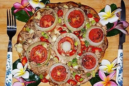 Pizza tonno rawit