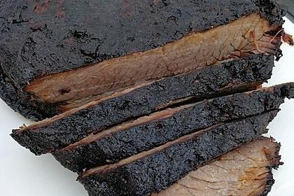 Beef Brisket - Rinderbrust vom Gasgrill