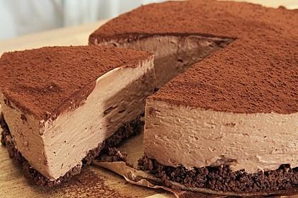 No Bake Schoko-Cheesecake