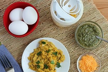 Rührei mit Pesto (Bild)