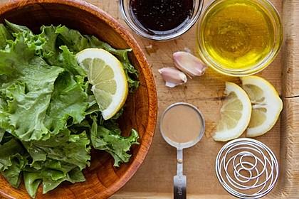 Tahini Salatdressing (Bild)
