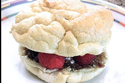 Süßer Frühstücksburger