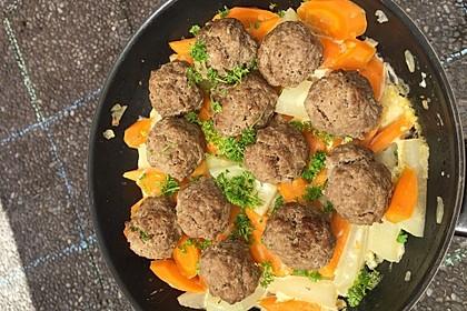 Kohlrabi-Karotten-Gemüse