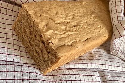 Toastbrot mit Dinkelsauerteig und Kefir