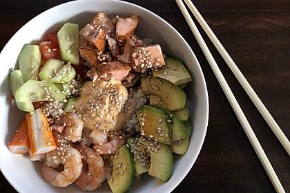 Sushi Bowl à la Ela (Bild)