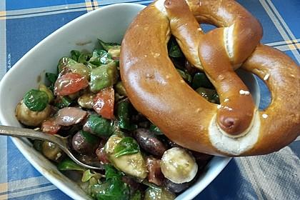 Allerlei-Salat mit Honig-Senf-Dressing 1