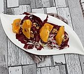 Radicchio-Salat mit Orange (Bild)