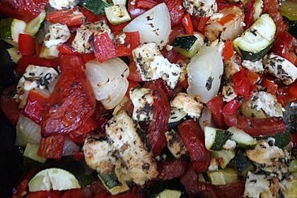 Alex' vegetarisches griechisches Gemüse aus dem Ofen
