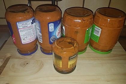Zucchinisoße zum Einkochen oder Einfrieren