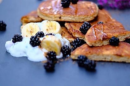 Fluffigste Bananen-Pancakes 1