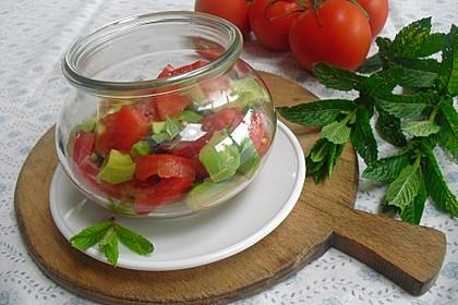 "Avocado-Tomatensalat ""Annie"" (Bild)"