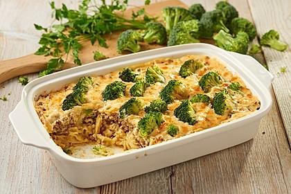 Pasta-Broccoli Gratin