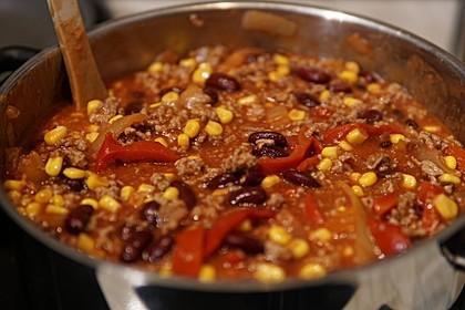Mildes Chili con Carne