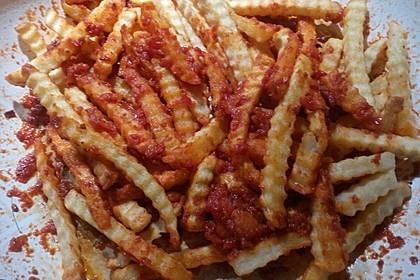 Masala Pommes frites