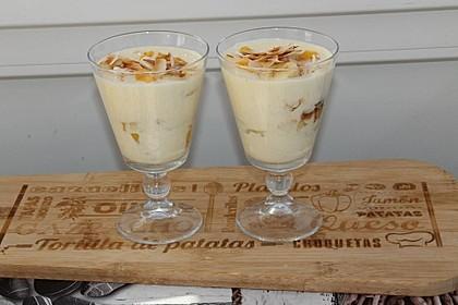 Bananen-Mango-Mascarpone-Dessert (Bild)