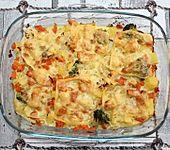 Gemüse-Kartoffel-Gratin (Bild)