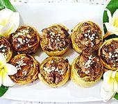 Süße Armonia-Kringel mit Misithra-Käse, Rosinen und Honig (Bild)