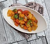 Süßkartoffel-Tomaten-Gemüse à la Gabi (Bild)